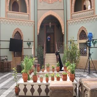 Set di una musalsal, Damasco vecchia, marzo 2011.