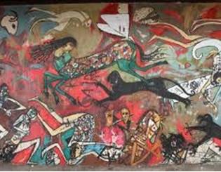 34. Il cavallo della libertà scappa da quanti l'attaccano - Alaa Awad e Ammar Abu Bakr -