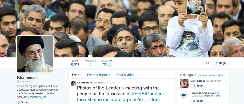 Twitter Khamenei