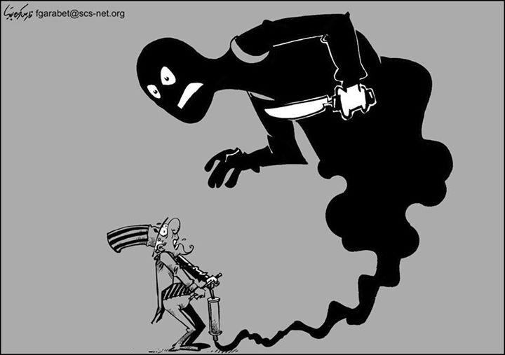 Da'ash (ISIS) visto dai media siriani